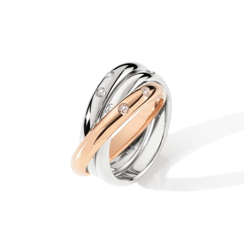 ANELLO MORELLATO LOVE RINGS - SNA31012