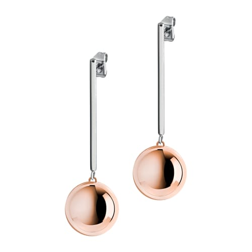 82e1af923 SALY05 - Stainless Steel Pvd rose gold Morellato Earrings - Discover t