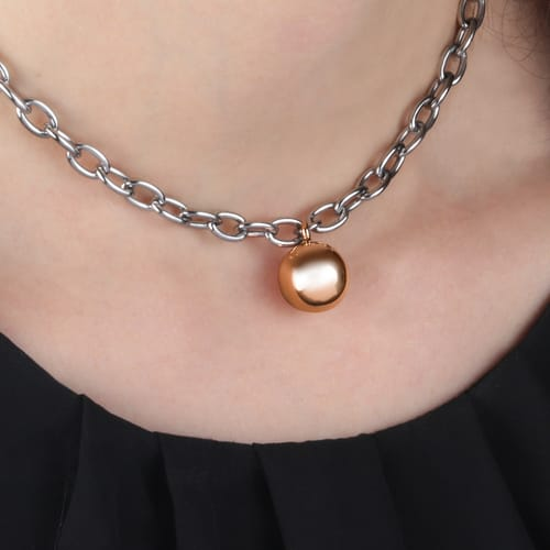 c5d3a046f SALY01 - Stainless Steel Pvd rose gold Morellato Necklace - Discover t