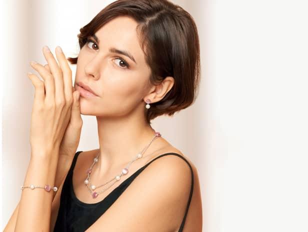 #GIOIELLIDAVIVERE Theelegance of new Gemma Perla Jewelry Discover the Morellato Style